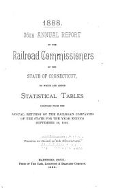 Annual Report of the Railroad Commissioners to which are Added Statistical Tables ...: Volume 36