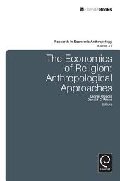 Economics of Religion: Anthropological Approaches