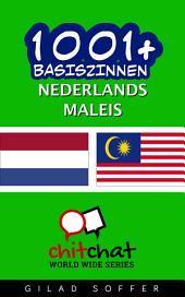 1001+ Basiszinnen Nederlands - Maleis