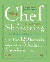 Chef on a Shoestring PDF