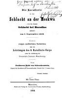 Die Kavallerie in der Sclacht an der Moskwa  von den Russen Schlacht bei Borodino genannt  am 7  September 1812     PDF