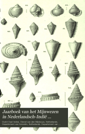 Jaarboek van het Mijnwezen in Nederlandsch-Indië ...: Volume 13,Deel 1