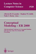 Conceptual Modeling - ER 2000