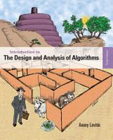Introduction to the Design and Analysis of Algorithms PDF