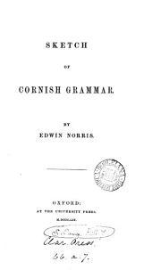 Sketch of Cornish grammar