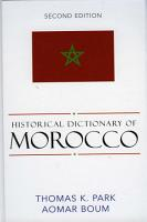 Historical Dictionary of Morocco PDF
