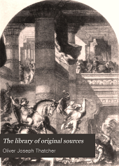 The Library of Original Sources: Volume 9