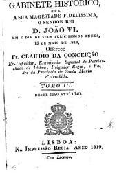 Gabinete historico: Desde 1850 até 1819
