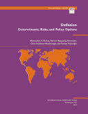 Deflation  Determinants  Risks  and Policy Options PDF
