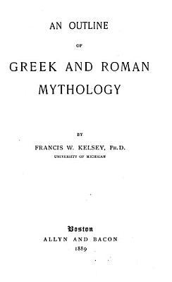 An Outline of Greek and Roman Mythology PDF