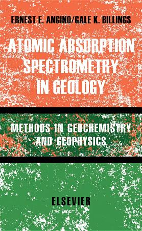 Atomic Absorption Spectrometry in Geology PDF