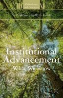 Institutional Advancement PDF