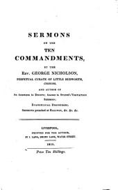 Sermons on the Ten commandments