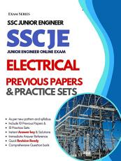 SSC Junior Engineer  JE  Electrical     10 Previous Papers   10 Practice Tests    1st Edition PDF