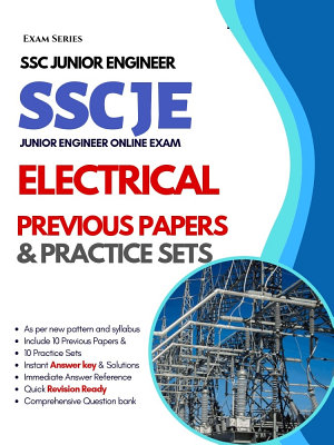 SSC Junior Engineer  JE  Electrical     10 Previous Papers   10 Practice Tests    1st Edition