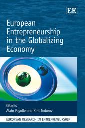 European Entrepreneurship in the Globalizing Economy