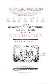 Alsatia... diplomatica