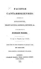 Facetiæ Cantabrigienses, by Socius