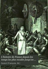 L'histoire de France depuis les temps les plus reculès jusqu'en 1789: Volume1