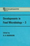 Developments in Food Microbiology   3 PDF
