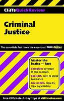 CliffsQuickReview Criminal Justice PDF