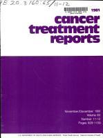 Cancer Treatment Reports PDF