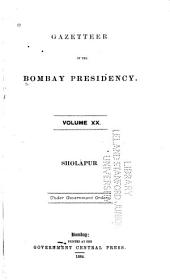 Gazetteer of the Bombay Presidency ...: Volume 20