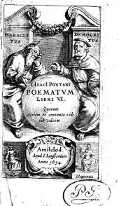 Isaaci Pontani poematum libri VI.