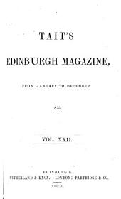 Tait's Edinburgh Magazine: Volume 22
