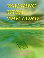 Walking with the Lord PDF