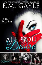 All You Desire: Purgatory Club Box Set: 4 books in 1