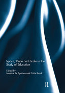 Space  Place and Scale in the Study of Education PDF