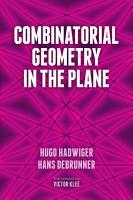 Combinatorial Geometry in the Plane PDF