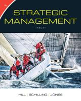 Strategic Management  Theory  An Integrated Approach PDF