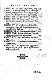Introductio facilis in Mathesin: conscripta ad usum tironum philosophiae Provinciae Austriae Societatis Jesu, Volume 1