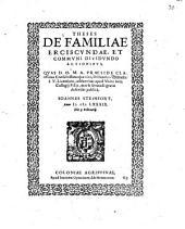 Theses de familiae erciscundae, et communi dividundo actionibus