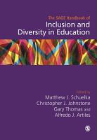 The SAGE Handbook of Inclusion and Diversity in Education PDF