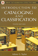 Introduction to Cataloging and Classification PDF