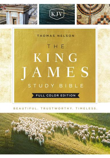 KJV  The King James Study Bible  Ebook  Full Color Edition PDF