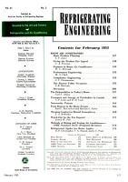 Refrigeration Engineering PDF