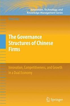 The Governance Structures of Chinese Firms PDF
