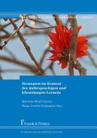 Strategien im Kontext des mehrsprachigen und lebenslangen Lernen PDF