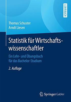 Statistik f  r Wirtschaftswissenschaftler PDF