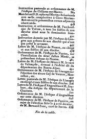 Collection ecclésiastique, ou recueil complet des ouvrages faits depuis l' ouverture des Etats-Généraux, relativement au clergé, à sa constitution civile, décrétée par l' Assemblée nationnale, sanction donnée par le Roi