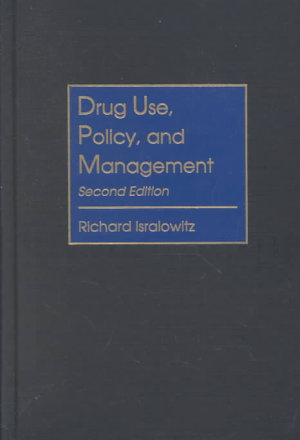 Drug Use  Policy  and Management PDF