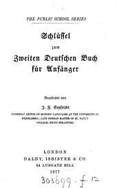 The first (second) German grammar. Schlüssel zum ersten (zweiten) deutschen Buch für Anfänger, bearb. von J.F. Seyfriedt: Volume 1
