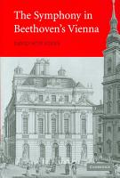 The Symphony in Beethoven s Vienna PDF