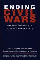 Ending Civil Wars PDF