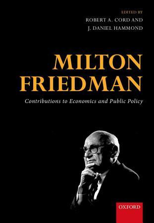 Milton Friedman PDF