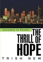 The Thrill of Hope PDF